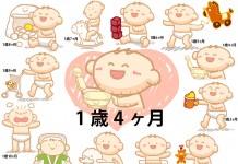 1歳4ヶ月赤ちゃんの成長と育児で知っておきたいこと