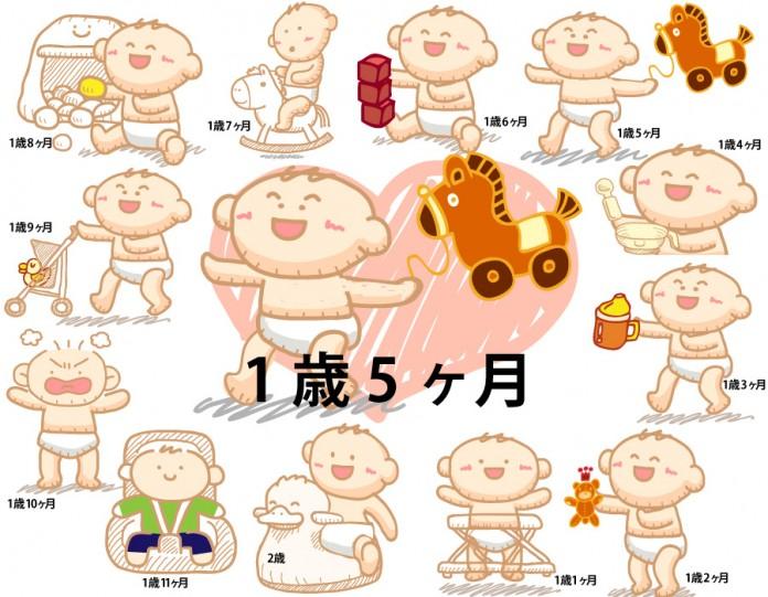 1歳5ヶ月赤ちゃんの成長と育児で知っておきたいこと