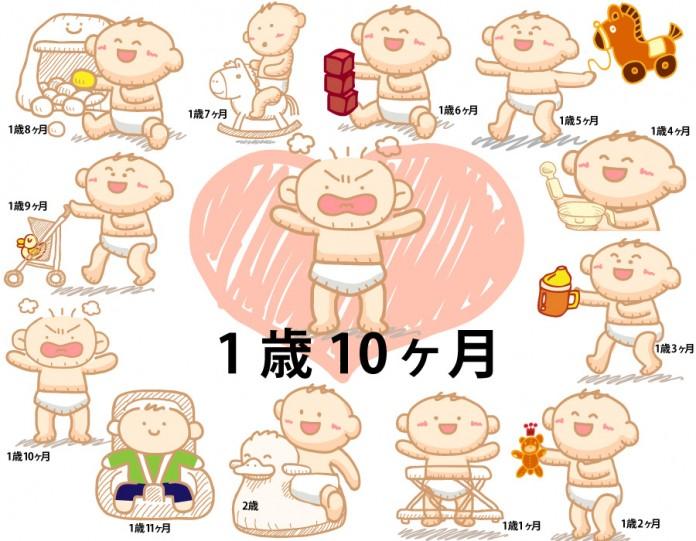1歳10ヶ月赤ちゃんの成長と育児で知っておきたいこと