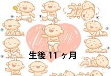 生後11ヶ月赤ちゃんの成長と育児で知っておきたいこと