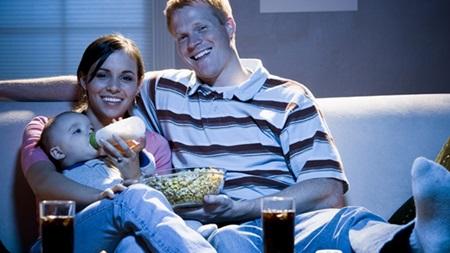 授乳中や食事中のテレビ