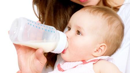 ミルク中耳炎の予防