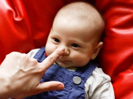赤ちゃんの鼻血について知っておきたいこと