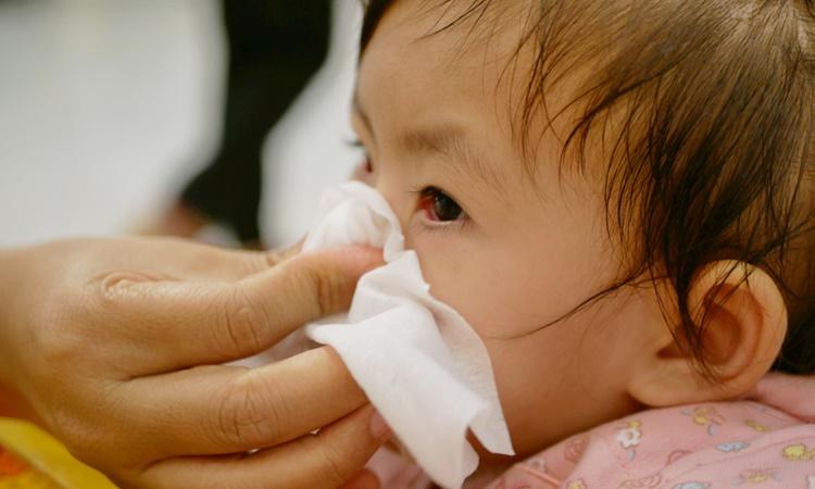 赤ちゃんの鼻血が出たときの体験談