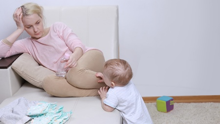 産後うつが与える赤ちゃんへの影響