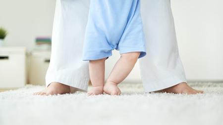 赤ちゃんの乾燥肌はいつまで続く