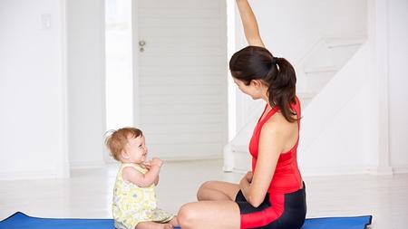 産後の運動不足の解消