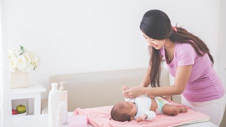 洋服は赤ちゃんの肌には刺激が強い?