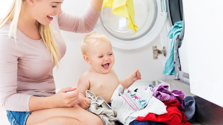 赤ちゃんの服はどう洗う?