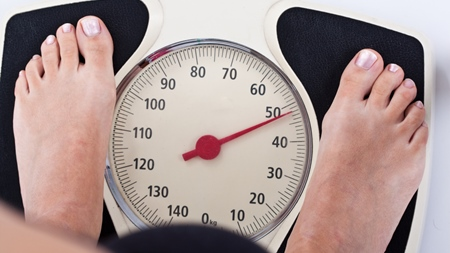 体重の増加ペース