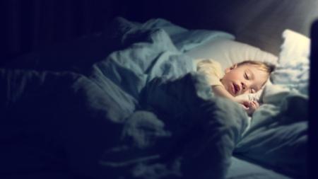 寝室を薄暗く保つ