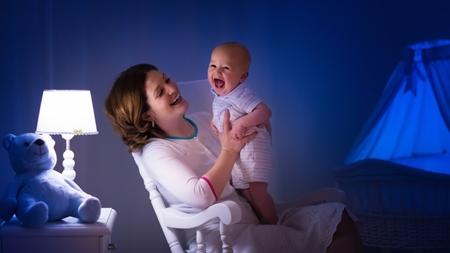 赤ちゃんの入眠儀式とは?