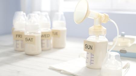 搾乳で出した母乳の保存方法