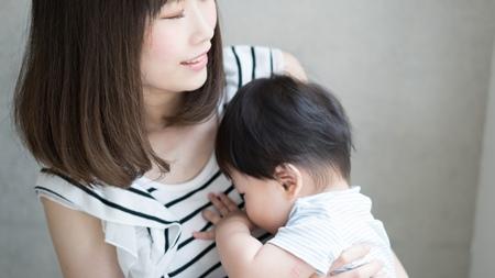 赤ちゃんとのスキンシップを大切にする