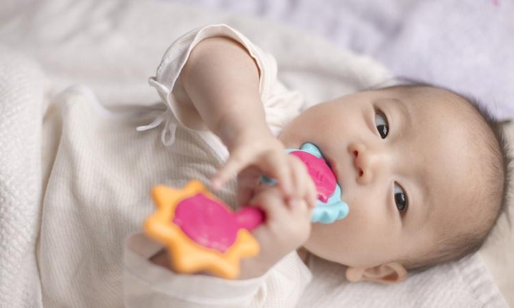 赤ちゃんの歯がための体験談