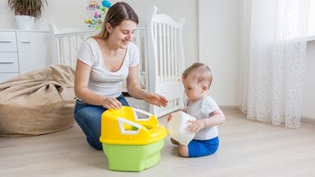 お母さんが赤ちゃんの欲求に敏感になる