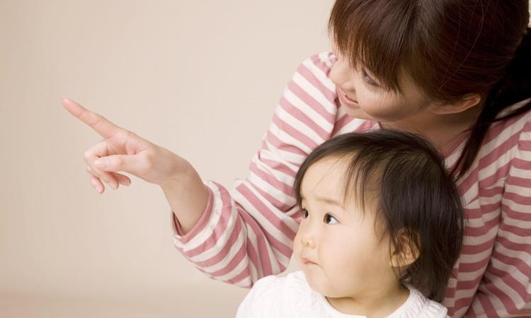 赤ちゃんの指さし体験談