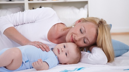 赤ちゃんを寝かせやすい
