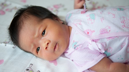 インフルエンザから乳児アトピー性皮膚炎に?