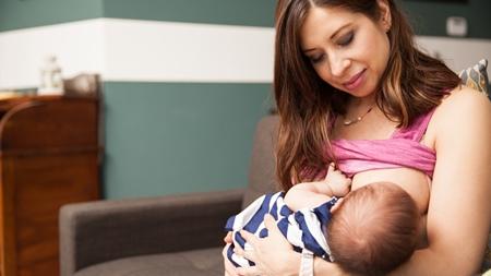 母乳育児の場合