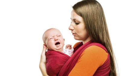 赤ちゃんが抱っこ紐を嫌がる場合は