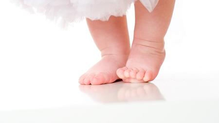 赤ちゃんの足の成長について