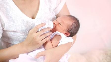 ミルクと母乳混合育児の場合