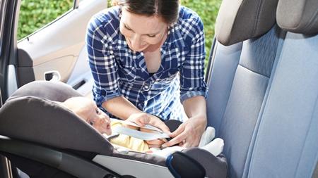 赤ちゃんの車酔い対策