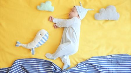 赤ちゃんの衣服を工夫する