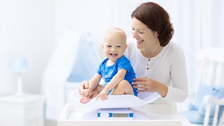 赤ちゃんの体重増加には個人差があること