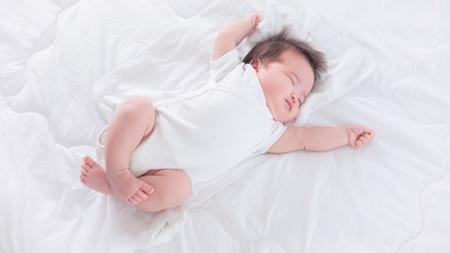 赤ちゃんは発汗作用が盛んなため