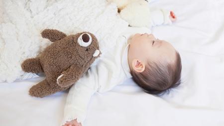 睡眠時の赤ちゃんの体温について
