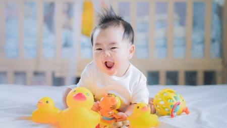生後6ヵ月から8ヶ月目の赤ちゃんの様子