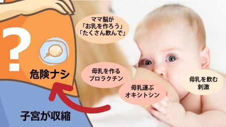 妊娠中でも授乳OKの意見