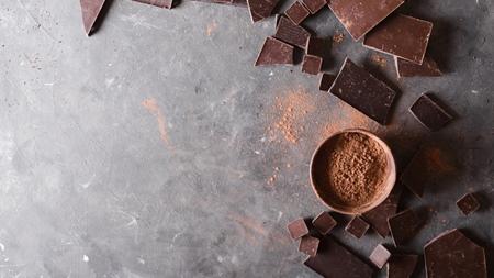 高カカオチョコレートに注意