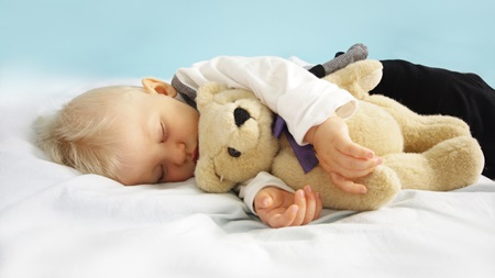 うつぶせ寝の防止