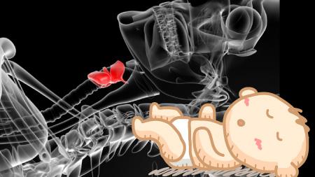 喉仏の凹み