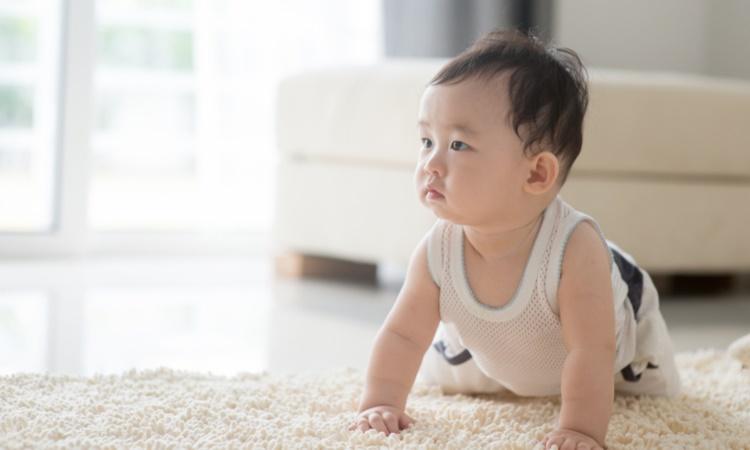 赤ちゃんの「はいはい」「ずりばい」の体験談