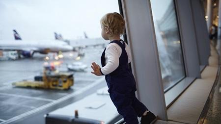 早めに空港に到着