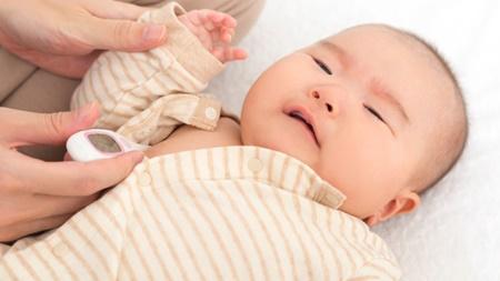 赤ちゃんの平熱はどのぐらい?変化するの?