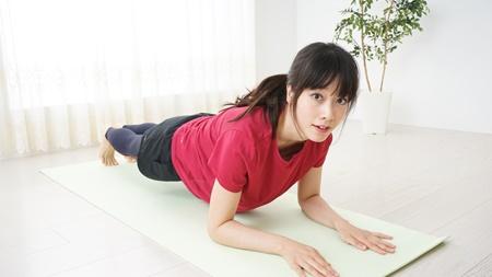 ストレッチや体操も組み合わせる