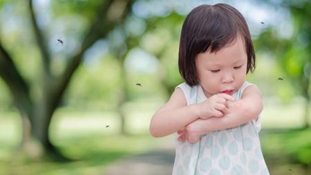 1歳4ヶ月 肌トラブル 虫刺され