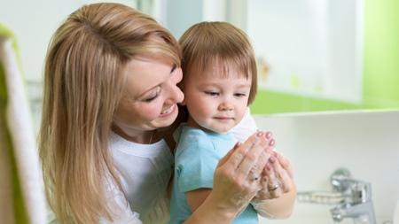 1歳5ヶ月 風邪対策 手洗い うがい